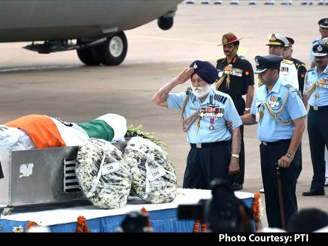 Video : Marshal of the Air Force Arjan Singh's Moving Tribute to President Kalam