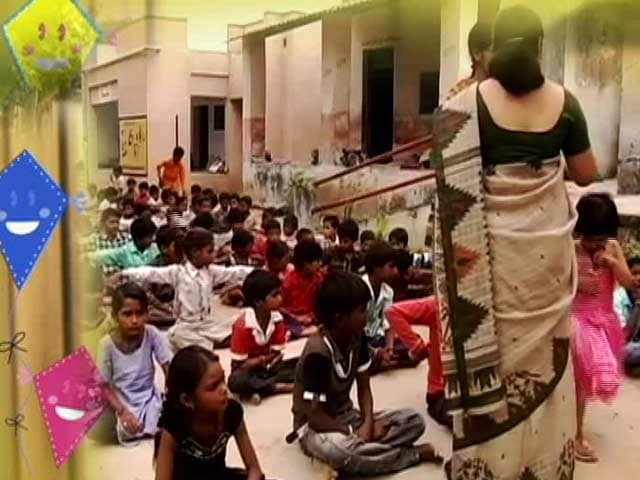 Video : Campaign Impact: Moti Kishol Government School in Ahmedabad