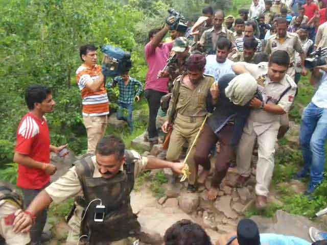 Video : Terrorist Caught After Attack in Jammu's Udhampur is Pakistani, Say Police