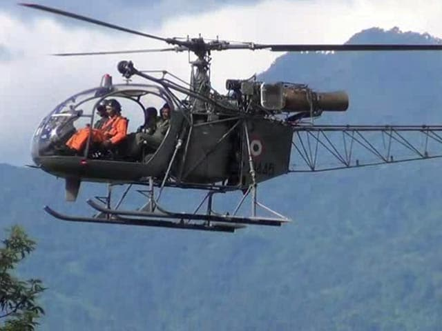 Video : Video of Rescue Mission for Missing Arunachal Helicopter