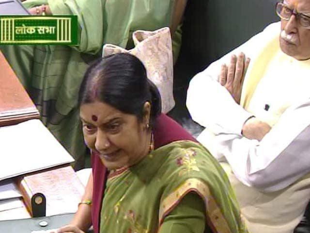 Video : 'Right Now': Minister Sushma Swaraj Accepts Congress' Challenge