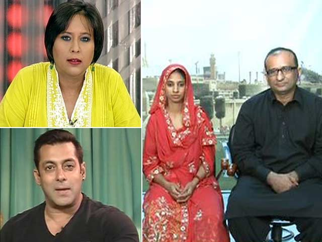 Video : 'Stay in Pakistan': Salman Khan's Unexpected Advice to Geeta