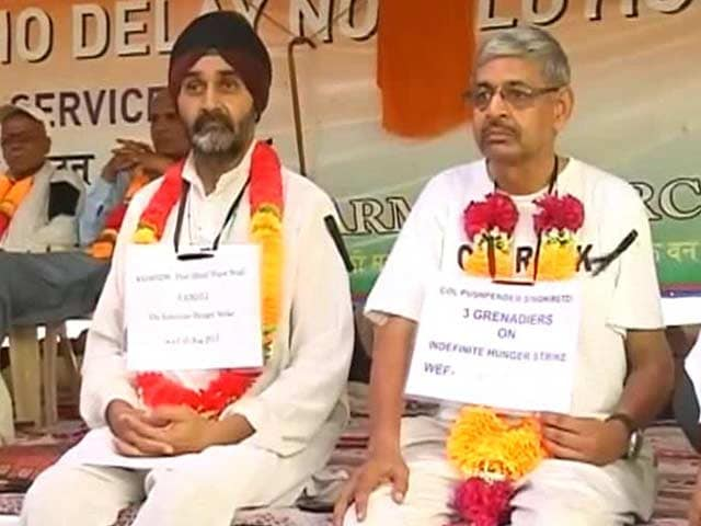 Video : Two Army Veterans Ready For Indefinite Fast to Push OROP Demand