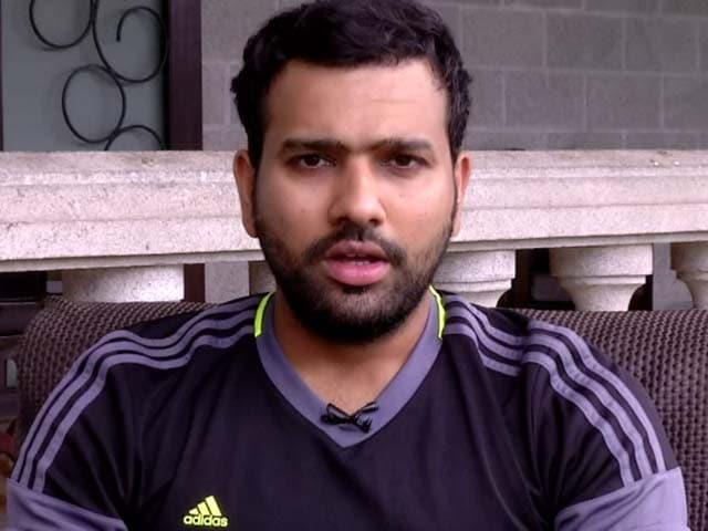 Video : Fortunate to see Kumar Sangakkara Play: Rohit Sharma