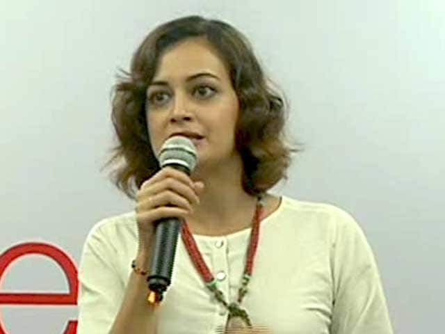 Video : Save Our Tigers: Dia Mirza Talks About Tigers in India