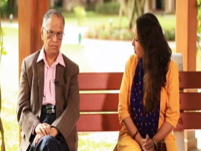 Video : Narayana Murthy on 'Healthy Body, Healthy Mind'