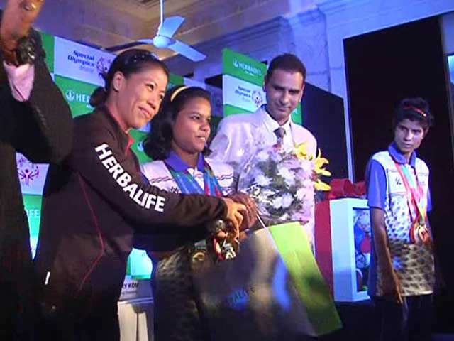 Video : Special Athletes, Who Made India Proud, Get the Adulation They Deserve