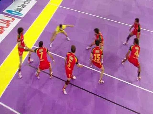 Video : Pro Kabaddi League: Bengaluru Bulls Overcome Telugu Titans to Enter Final