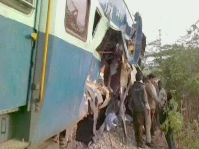 Video : Congress Lawmaker Among 5 Dead in Andhra Pradesh Train Accident