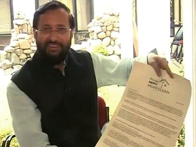 Video : Fresh Air is Our Birth Right: Prakash Javedkar, Union Environment Minister