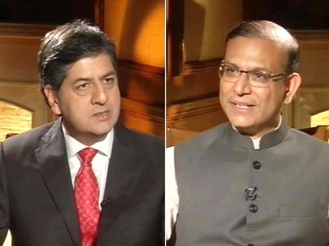 Video : Stock Markets Crash No Crisis for India: Jayant Sinha to NDTV