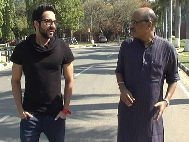 Video : Walk The Talk with Ayushmann Khurrana