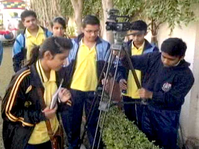 Video : NDTV School TV: Short Films Made by School Students