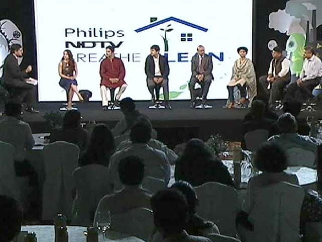Video : NDTV-Philips: Breathe Clean Conclave