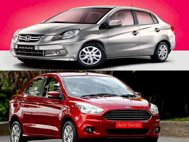 Video : Honda Amaze vs Ford Figo Aspire and the New Beetle