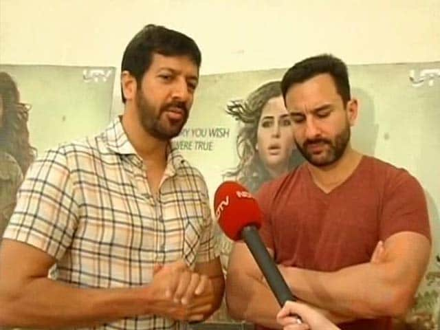 Saif, Kabir Khan on Phantom Woes and Win