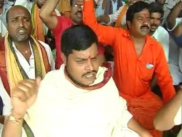 Video : In Telangana, Temple Priests on Strike For Over a Week