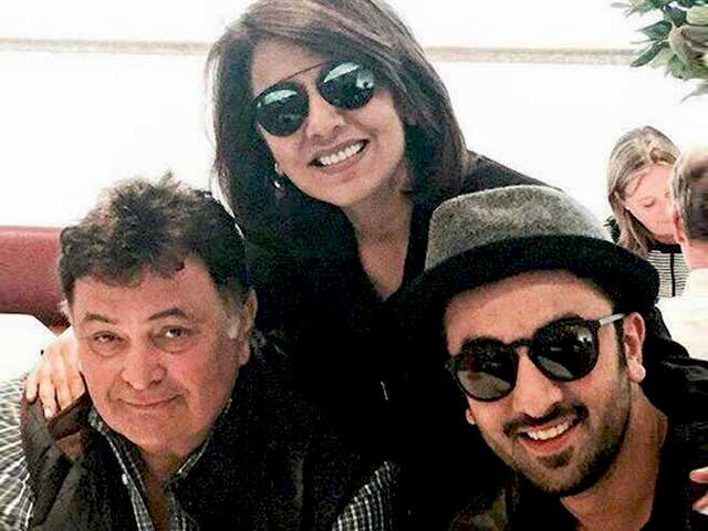 Ranbir is a Family Man