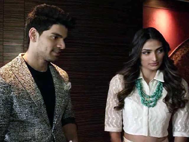 Athiya on Hero and Salman Khan