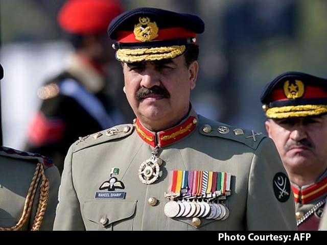Video : Pakistan Army Chief Raheel Sharif Warns India of 'Unbearable Cost' of War
