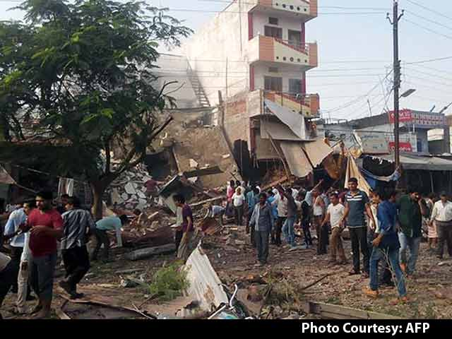Video : Over 90 Dead as Explosion Rips Through Restaurant in Madhya Pradesh