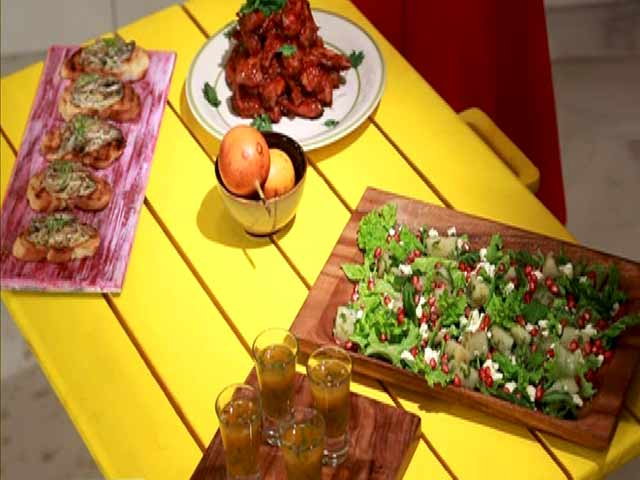 Video : My Yellow Table: Try This Flavourful Version of Chicken Wings and Shakarkandi Chaat