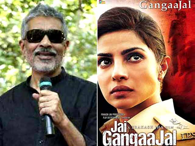 Priyanka's First Poster of Jai Gangaajal