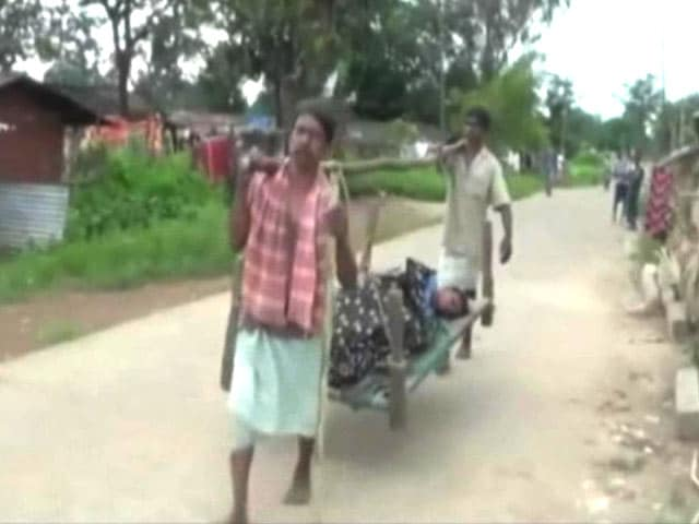 Video : In Chhattisgarh, Medical Help Means 10-Km Walk