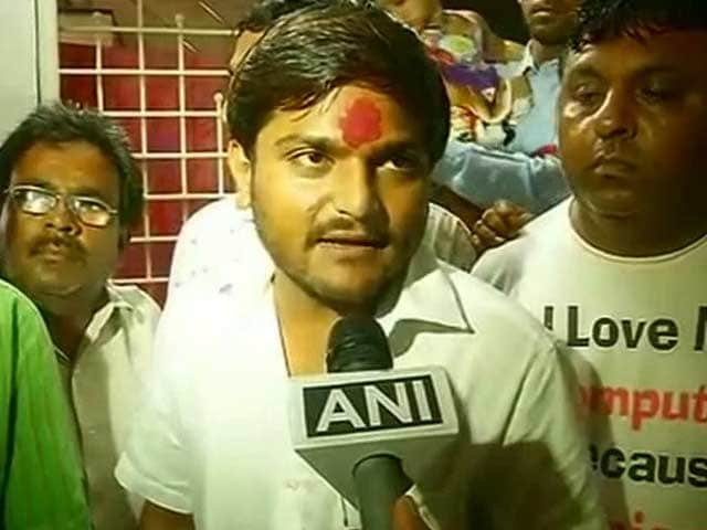 Video : Day After Hardik Patel Arrest, Mobile Internet Back in Gujarat