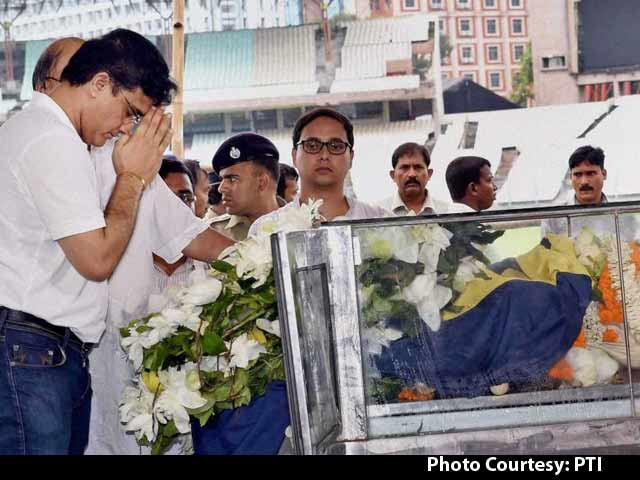 Video : Jagmohan Dalmiya Undertakes his Final Journey as Cricket's Who-Who Pay Last Respects