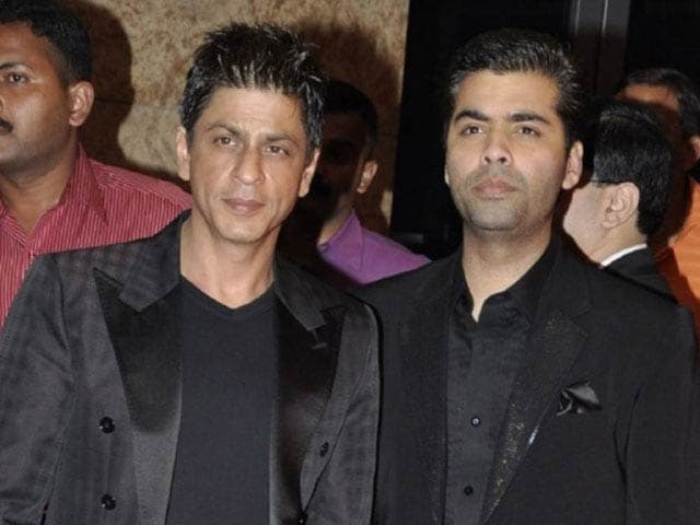 When Shah Rukh Trolled Karan Johar