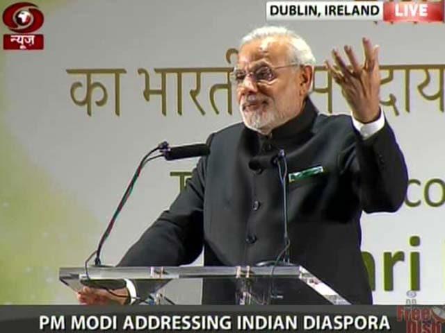 Video : After Sanskrit Welcome in Ireland, PM Modi's 'Secularism' Dig at Opposition