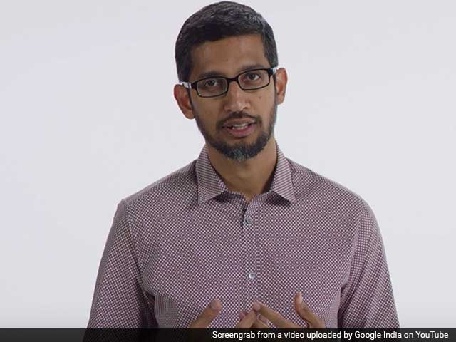 Video : For PM Modi From Google's Sundar Pichai, a Video Welcome
