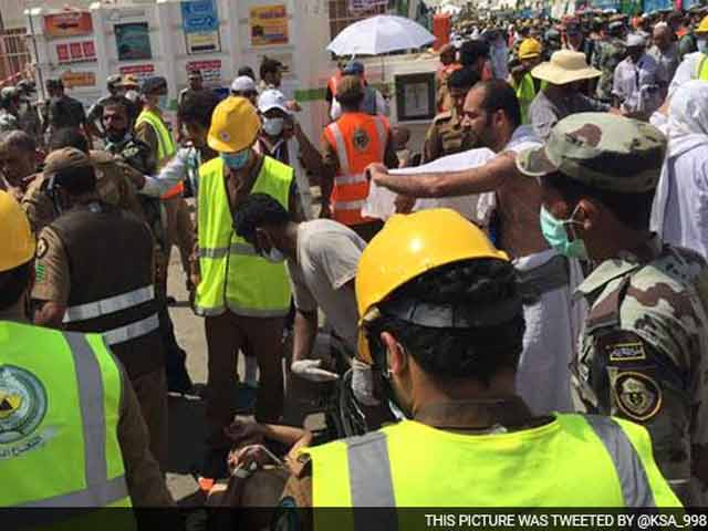 Video : Over 700 Dead, 800 Injured in Stampede Near Mecca During Haj