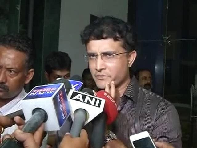 Video : It's a Big Hole to Fill: Ganguly On Being Bengal Cricket Chief