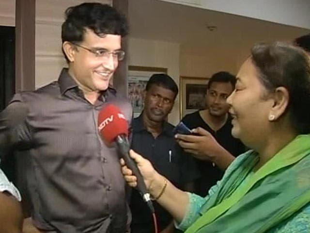 Video : Sourav Ganguly Thanks Mamata Banerjee for Making him CAB Chief