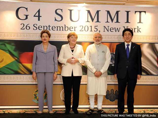 Video : UN Security Council Must Include World's Largest Democracies: PM Modi at G4