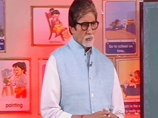 Video : Watch 'Swachhta Ki Pathshala' With Amitabh Bachchan