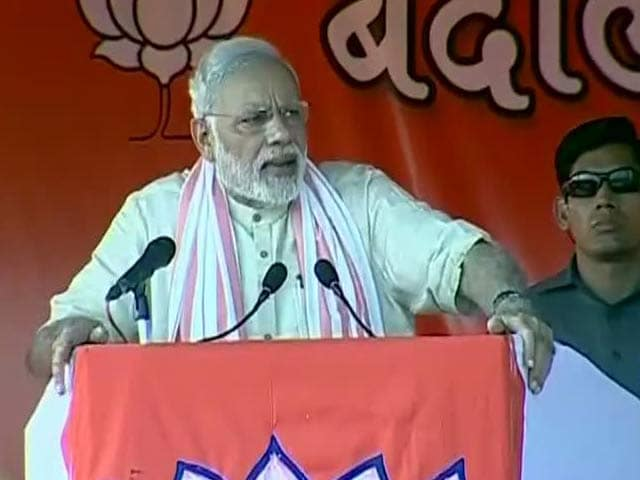 Video : 'Bullet Will Destroy, Ballot Will Bring Development': PM Modi in Bihar