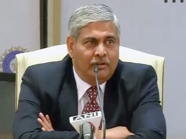 Video : Shashank Manohar Promises Corruption-Free Indian Cricket