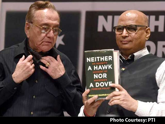 Video : After Paint Attack, Threats by Sena, Ex-Pak Minister Kasuri's Book Launched