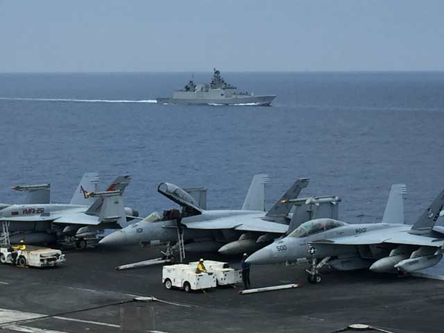 Video : India-Japan-US: A New Asia-Pacific Naval Alliance?