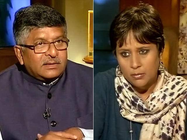Video : 'Court Has Hit Sovereignty of Parliament': Minister Ravi Shankar Prasad on Judges' Appointment Verdict