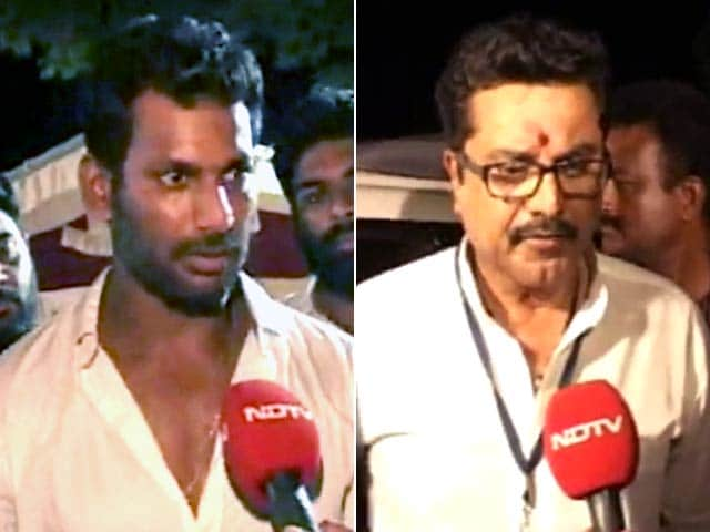 Actor Vishal Reddy Ends Veteran Sarath Kumar's rule in Southern Film Body