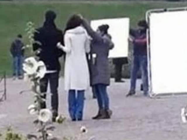 Aishwarya Shoots For Ae Dil Hai Mushkil in London