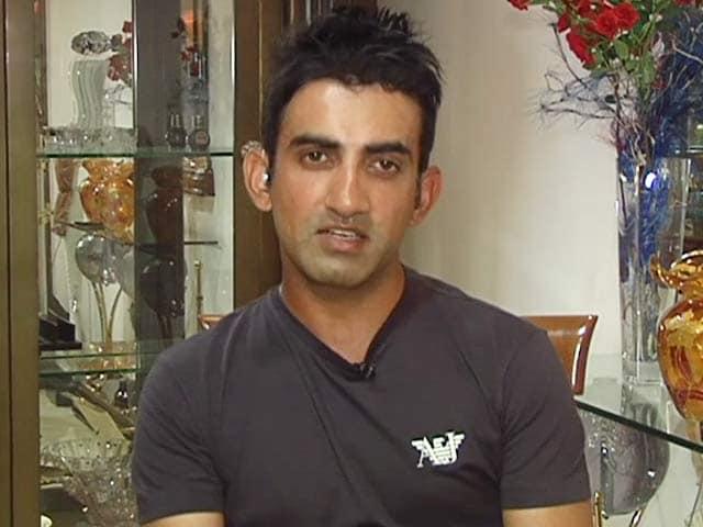Video : Virender Sehwag Made Me Jealous at Times: Gautam Gambhir