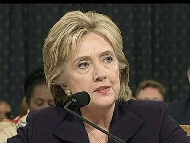 Video : Hillary Clinton Sails Through Benghazi Hearing Unscathed