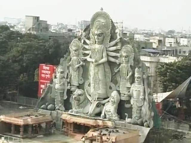 Video : Kolkata Durga Pujas Now All About Lakshmi, Organisers Say