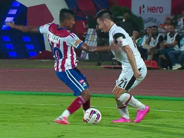 Video : Indian Super League: NorthEast United Prolong Atletico de Kolkata's Misery