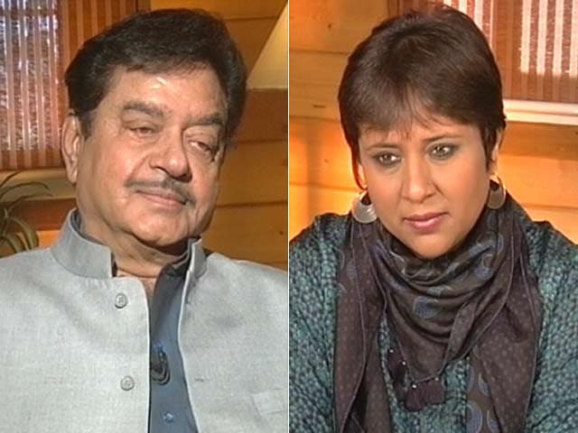 Video : Nitish Like Jyoti Basu, No Anti-Incumbency Against Him: Shatrughan Sinha